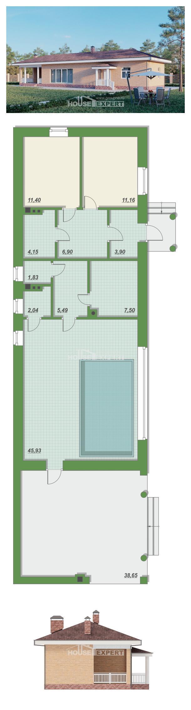 Проект дома 110-006-Л | House Expert