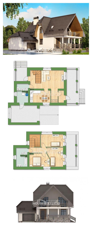Проект дома 150-001-Л | House Expert